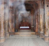 Stabkirche von Gol, Innenraum, Copyright: insidenorway