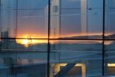 Spiegel der Sonne in der Opernfassade, Copyright: insidenorway