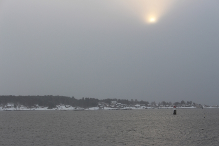 Winter am Oslofjord, Museumshalbinsel Bygdøy, Copyright: insidenorway