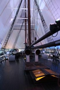 Deck der Fram, Copyright: insidenorway