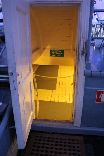 Unter Deck der Fram, Copyright: insidenorway
