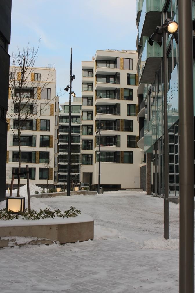 Architektur des Stadtteils Tjuvholmen, Copyright: insidenorway