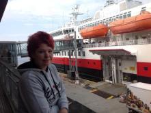 Balkon des Hurtigrutenterminal, Copyright: insidenorway