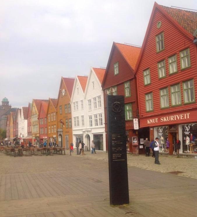 Hansehäuser in Bergen Brygge, Copyright: insidenorway
