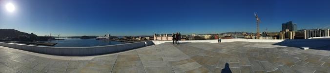 Auf dem Dach der Oper, Copyright: insidenorway