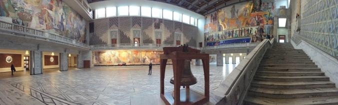 Rathaushalle, Verleihungsort des Friedensnobelpreises, Copyright: insidenorway