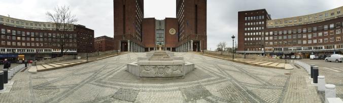 Rathaus, Haupteingang Copyright: insidenorway