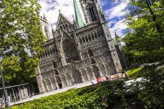 Nidaros-Kathedrale, Trondheim, Copyright: CH - visitnorway.com