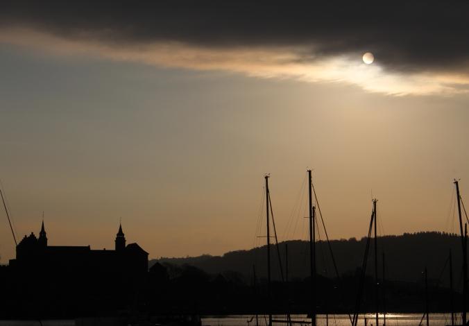 Die Festung Akershus nach Sonnenaufgang, Copyright: insidenorway