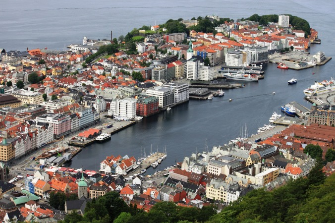 Bergen, Provinz Hordaland