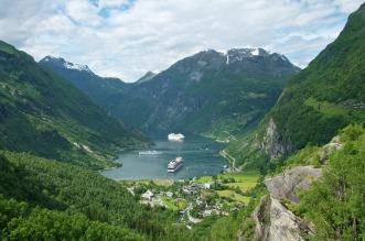 Geirangerfjord, Copyright: Øyvind Heen - Visitnorway.com