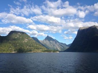 Eidfjord, ein Nebenarm des Hardangerfjords, Provinz Hordaland