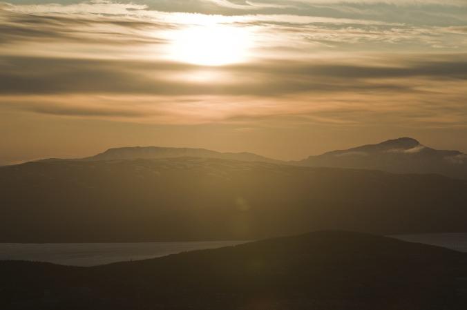 Die Mitternachtssonne über Tromsø, Copyright: Innovasjon Norge