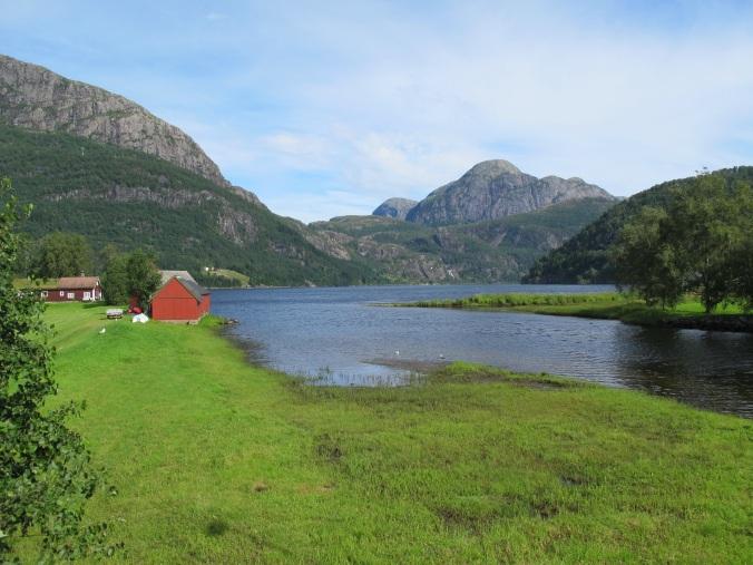 Idylle am Sunnfjord
