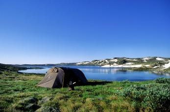 Camping am Hardangerfjord, Copyright: Anders Gjengedal - Visitnorway.com