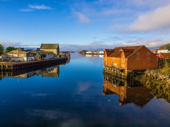 Svolvær, Hauptort der Lofoten auf der Insel Austvågøya
