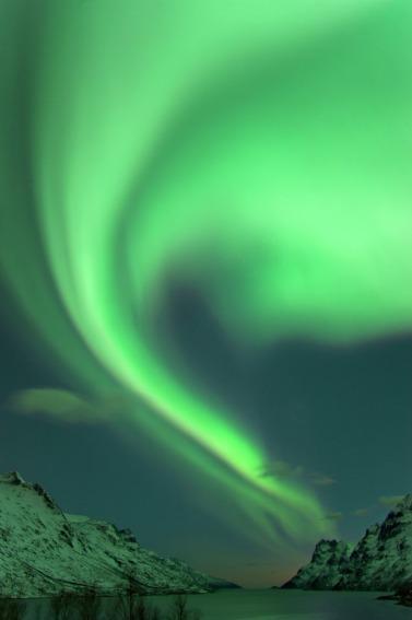 Nordlichter über Tromsø, Copyright: Bjørn Jørgensen - Visitnorway.com