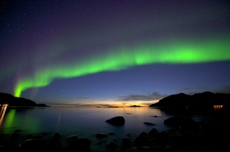 Nordlichter in Tromvik, Copyright: Gaute Bruvik - visitnorway.com