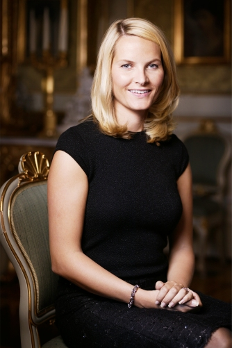 Kronprinzessin Mette Marit, Copyright: Jo Michael, The Royal Court
