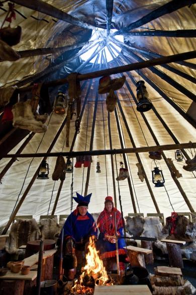 Sami in Kirkenes, Copyright: Terje Rakke/Nordic Life - Visitnorway.com