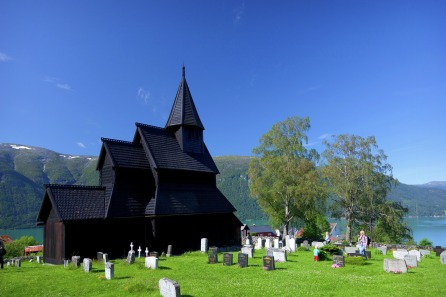 Urnes Stabkirche, Copyright: Espen Mills/Matlangsnasjonaleturistveger.no/Visitnorway.com