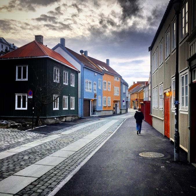 Trondheim, Altstadt, Copyright: insidenorway