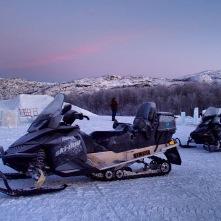 Schneemobil-Safari Kirkenes, Copyright: Janina Graf