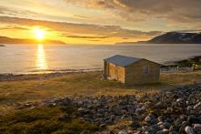 Midnight sun, Tana, Norway, Copyright: Bjarne Riesto / riesto.no / www.nordnorge.com / Tana