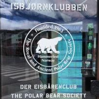 Der berühmte Eisbärenclub in Hammerfest