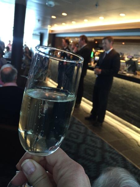 Farewell Cocktail auf der MS Polarlys