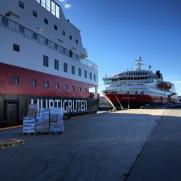 Schiffsschmusen in Trondheim