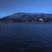 Blaue Stunde in Tromsø