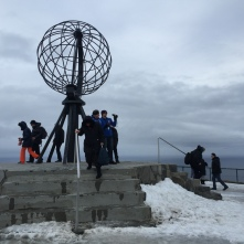 Winter am Nordkapp