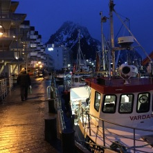 Polarnacht in Svolvær