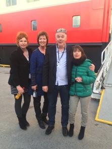 Tourguide-Treffen zwischen MS Nordnorge und MS Nordlys