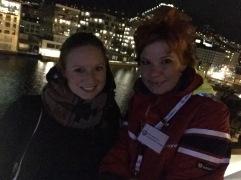 Bereit zum Ablegen auf der MS Nordnorge in Bergen