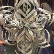 Die Gäste haben´s raus.....gebastelter Schmuck für unseren Weihnachtsbaum auf der MS Nordnorge