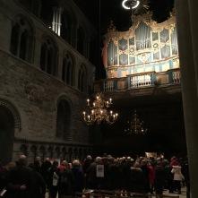 Weihnachtsmesse im Nidaros-Dom Trondheim