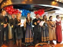 Norwegischer Nationalfeiertag auf der MS Finnmarken