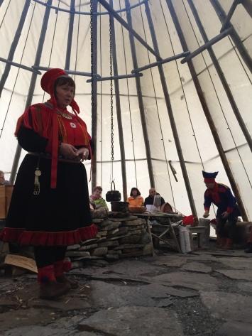 Ausflug zu den Sami
