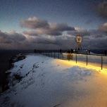 Polarnacht am Nordkapp