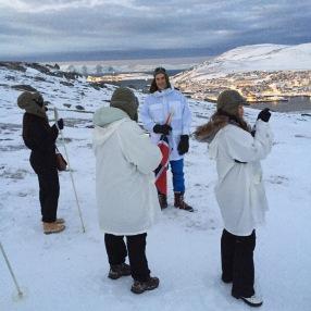 "Ausflug ""Into the Ice"" in Hammerfest"