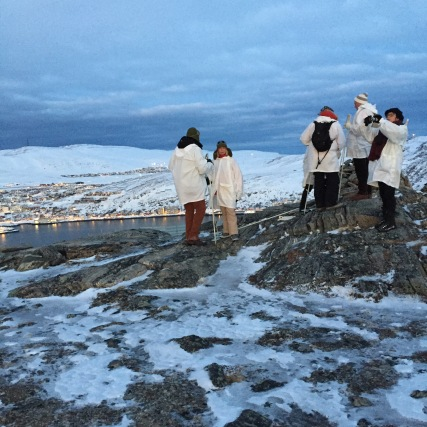 "Ausflug ""Into the Ice"" in Hammerfest"