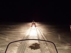 Schneemobil-Safari in Kirkenes