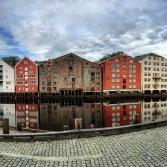 Trondheim, Kanalhafen, Copyright: insidenorway