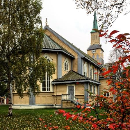 Tromsø, Domkirche, Copyright: insidenorway