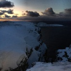 Nordkapp am Mittag in der Polarnacht, Copyright: insidenorway
