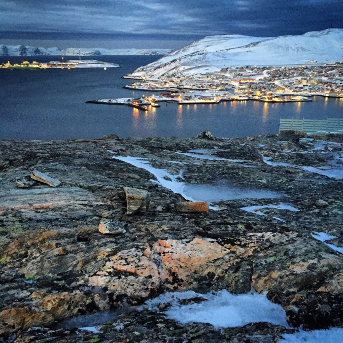 Polarnacht in Hammerfest, Copyright: insidenorway