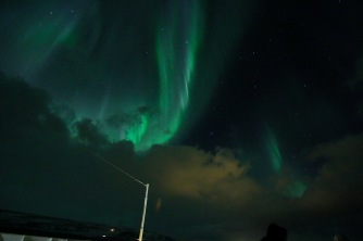Nordlicht hinter Tromsø, Copyright: insidenorway
