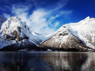 Eikesdalsvatnet, Copyright: Ann-Kristin Vike